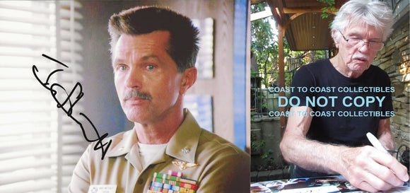 Tom Skerritt actor signed autographed Viper Top Gun 8x10 photo COA= STAR