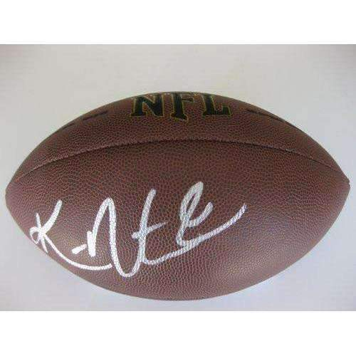Ken Norton Jr, Oakland Raiders, Dallas Cowboys, San Francisco 49ers, UCLA, Seahawks, Signed, Autographed, NFL Football, a COA with the Proof Photo of Ken Signing Will Be Included with the Football