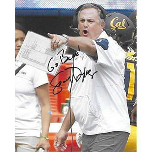 Sonny Dykes, Cal Bears, California Golden Bears, Signed, Autographed, 8x10 Photo, a COA Will Be Included.