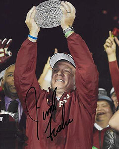 Jimbo Fisher Florida State Seminoles signed, autographed, 8x10 photo, proof COA
