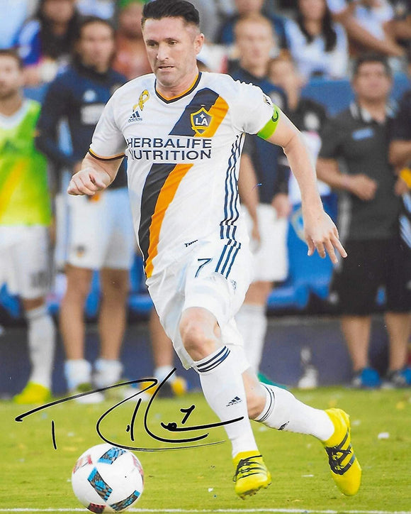 Robbie Keane Los Angeles Galaxy signed autographed soccer 8x10 Photo proof COA