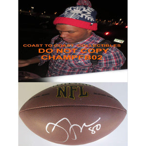Julius Thomas, Miami Dolphins, Jaguars,Denver Broncos, Signed, Autographed, NFL Football, a COA with the Proof Photo of Julius Signing Will Be Included