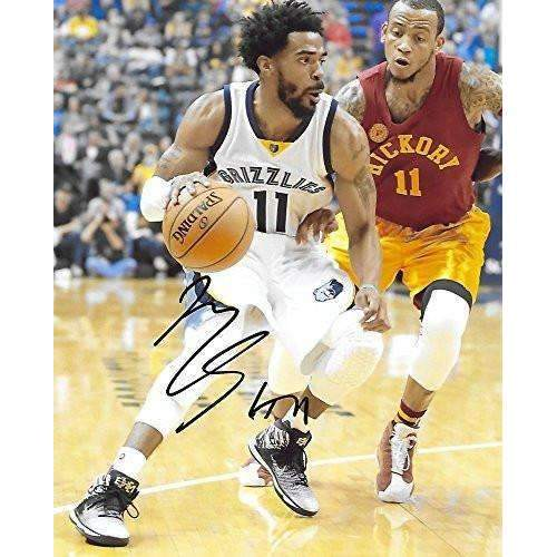 Mike Conley, Memphis Grizzlies, Signed, Autographed, Basketball, 8X10 Photo, a Coa with the Proof Photo of Mike Signing Will Be Included