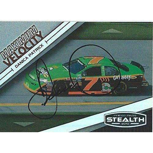 Danica Patrick, Nascar Driver, Signed, Autographed, 2010 PressPass Card #54. a COA Will Be Included