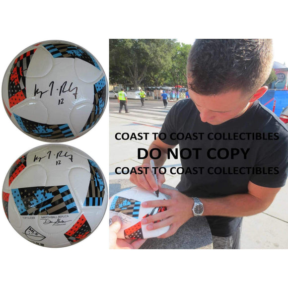 Keegan Rosenberry, Philadelphia Union, Signed, Autographed, MLS Soccer Ball, a Coa with the Proof Photo of Keegan Signing the Ball Will Be Included