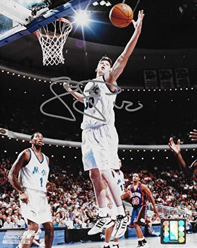 Mike Miller Orlando Magic signed basketball 8x10 photo COA