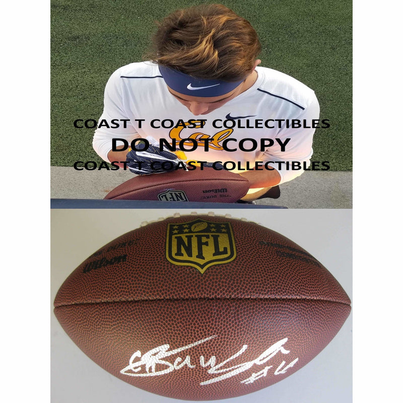 Chad Hansen, New York Jets, California Golden Bears, Cal Bears, Signed, Autographed, Duke Football,..
