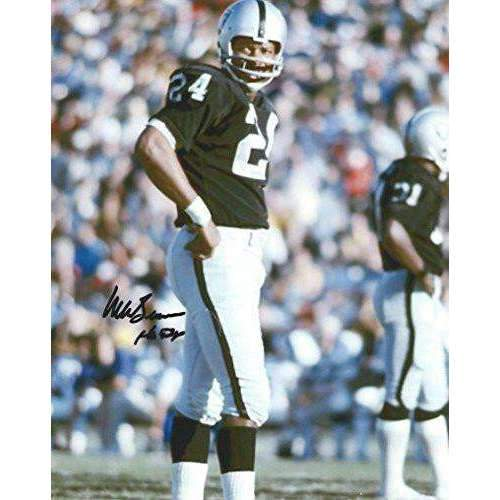 Willie Brown, Oakland Raiders, Hof, Hall of Fame, Signed, Autographed, 8x10 Photo, A COA With The Proof Photo Willie Signing Will Be Included