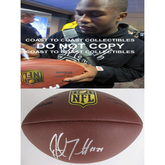 Justin Forsett Baltimore Ravens, Seahawks, Signed, Autographed, NFL Duke Football, a COA with the Proof Photo of Justin Signing Will Be Included