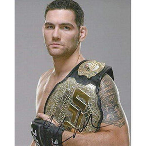 Chris Weidman, MMA, UFC, Signed, Autogrpahed, 8x10 Photo, a COA with the Proof Photo of Chris Signing Will Be Included
