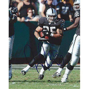 Justin Fargas, Usc Trojans, Oakland Raiders, Signed, Autographed, 8x10 Photo, a COA Will Be Included