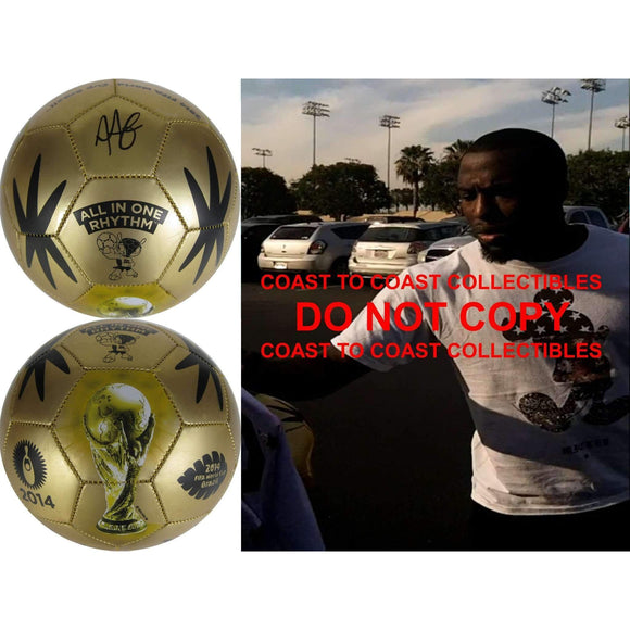 Jozy Altidore, Usa Mens Soccer Team, Fifa World Cup, Toronto Fc, Signed, Autographed, Logo Soccer Ball, a COA with the Proof Photo of Jozy Signing the Ball Will Be Included