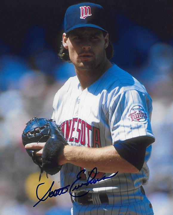 Scott Erickson Minnesota Twins signed, autographed baseball 8x10 photo,proof COA