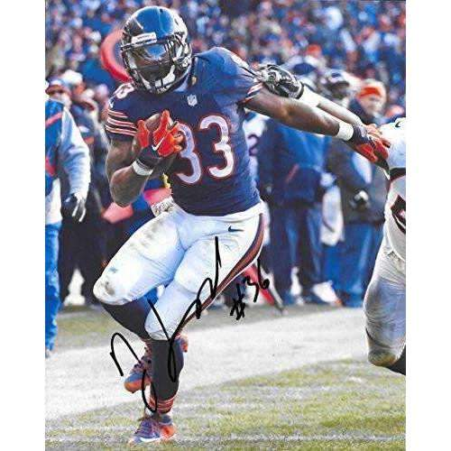 Jeremy Langford Chicago Bears, Michigan State, Signed, Autographed, 8X10 Photo, a COA with the Proof Photo of Jeremy Signing Will Be Included