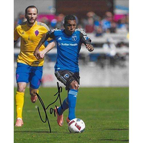 Alberto Quintero San Jose Earthquakes, Panama, signed, autographed, Soccer 8x10 Photo -COA and Proof