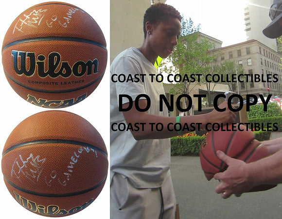 Tiffany Mitchell South Carolina Gamecocks signed autographed basketball proof
