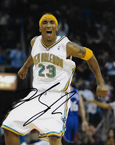 JR Smith Charlotte Hornets signed basketball 8x10 photo COA