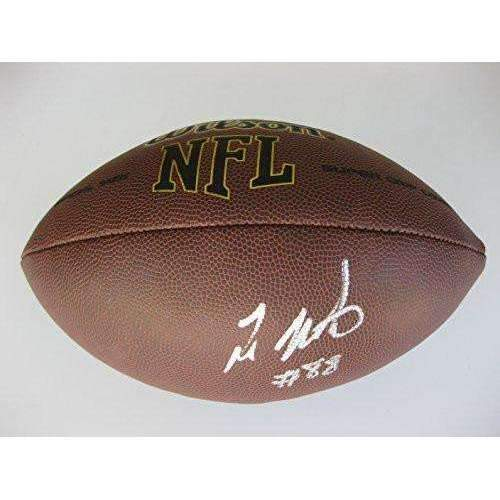 Ty Montgomery Green Bay Packers, Stanford Cardinals, Signed, Autographed, NFL Football,a COA with the Proof Photo of Ty Signing Will Be Inlcuded