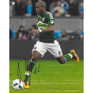 Darlington Nagbe, Portland Timbers, Signed, Autographed, 8x10 Photo, a Coa with the Proof Photo of Darlington Signing Will Be Included