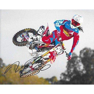 Malcolm Stewart, Supercross, Motocross, Signed, Autographed, 8X10 Photo, a COA with the Proof Photo of Malcolm Signing Will Be Included