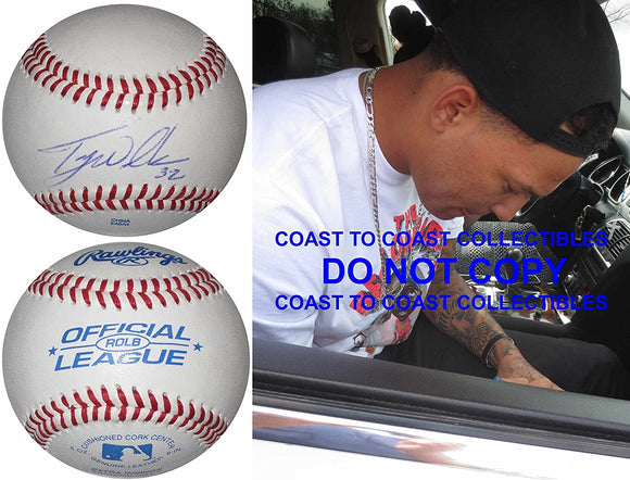Taijuan Walker Seattle Mariners Diamondbacks signed autographed baseball proof