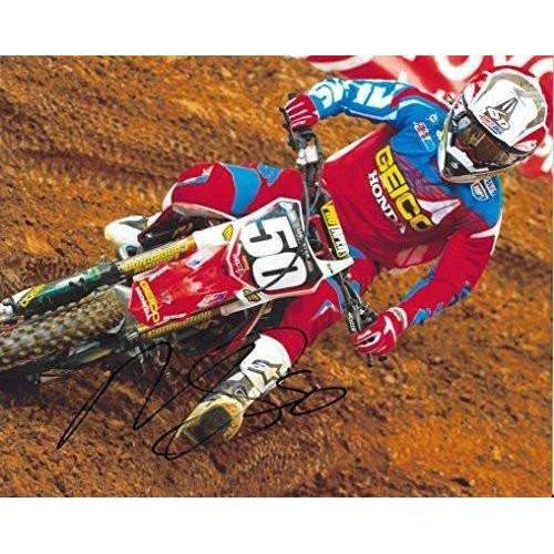 Malcolm Stewart, Supercross, Motocross, Signed, Autographed, 8X10 Photo, a COA with the Proof Photo of Malcolm Signing Will Be Included.