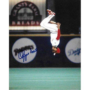 Ozzie Smith, St Louis Cardinals, Cardinals, the Wizard, Signed, Autographed 8x10, Photo, a COA with the Proof Photo Will Be Included.