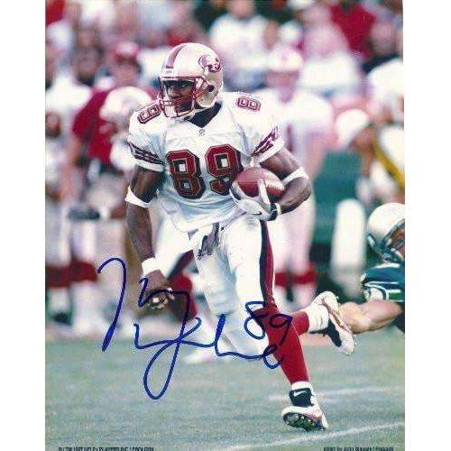 Iheanyi Uwaezuoke, San Francisco 49ers, Niners, California Bears, Cal, Signed, Autographed, 8x10 Photo, Coa, Rare Hard Photo to Find