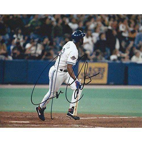 Joe Carter, Toronto Blue Jays, Signed, Autographed, 8x10 Photo, a COA with the Proof Photo Will Be Included