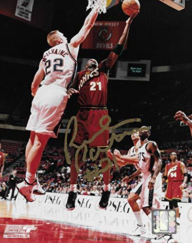 Ruben Patterson signed Seattle Supersonics basketball 8x10 photo COA