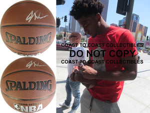 Justise Winslow Memphis Grizzlies Duke signed autographed NBA basketball proof