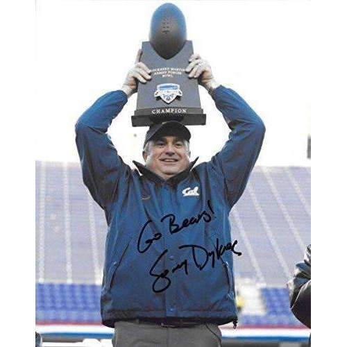Sonny Dykes, Cal Bears, California Golden Bears, Signed, Autographed, 8x10 Photo, a COA Will Be Included