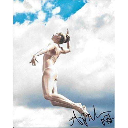April Ross, Olympics, Volleyball Player, signed, autographed, 8x10 photo - COA and proof included