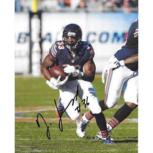 Jeremy Langford Chicago Bears, Michigan State, Signed, Autographed, 8X10 Photo, a COA with the Proof Photo of Jeremy Signing Will Be Included.