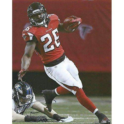 Tevin Coleman Atlanta Falcons, Signed, Autographed, 8X10 Photo, a COA with the Proof Photo of Tevin Signing Will Be Included