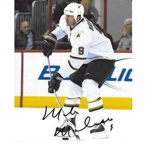 Mike Modano, Dallas Stars, Signed, Autographed, 8X10 Photo, A COA With The Proof Photo Will Be Included..
