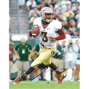 EJ Manuel, Florida State, FSU, Signed, Autographed, 8x10 Photo, a Coa with the Proof Photo of EJ Signing Will Be Included