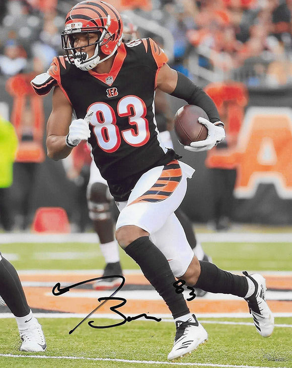 Tyler Boyd Cincinnati Bengals autographed 8x10 photo proof COA