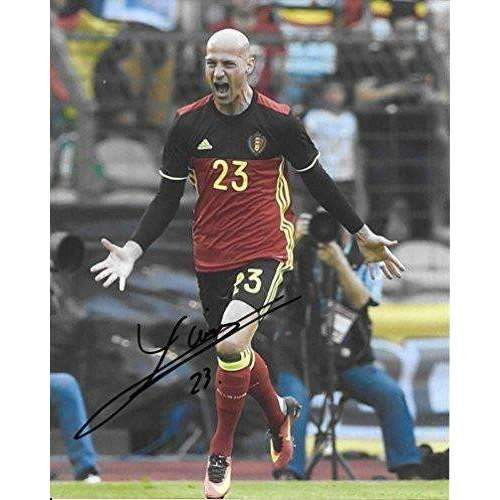 Laurent Ciman, Montreal Impact, Belgium, Signed, Autographed, 8x10 Photo, a Coa with the Proof Photo of Laurent Signing the Ball Will Be Included.