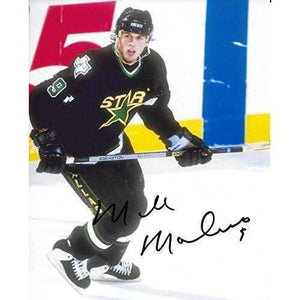 Mike Modano, Dallas Stars, Signed, Autographed, 8X10 Photo, A COA With The Proof Photo Will Be Included.