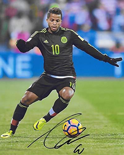 Giovani Dos Santos, Los Angeles Galaxy, signed, autographed, Soccer 8x10 Photo, Coa with the Proof Photo will be included.