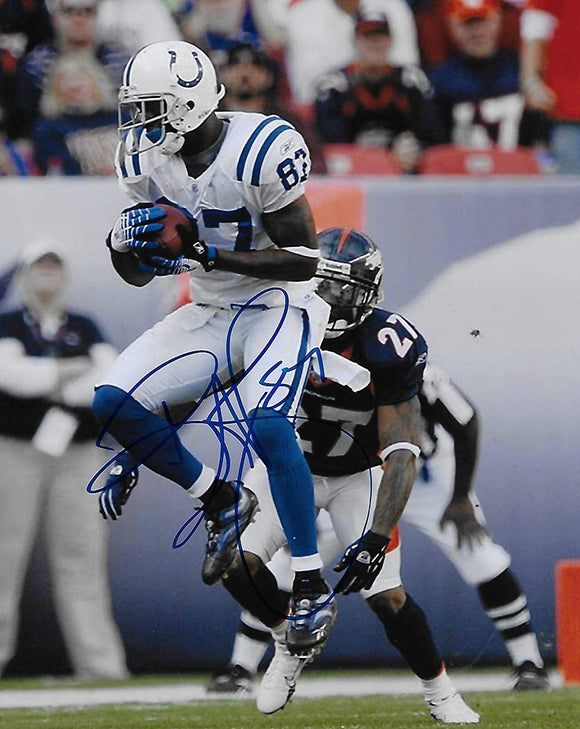 Reggie Wayne Indianapolis Colts signed autographed 8x10 Photo,proof COA