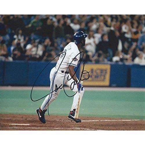 Joe Carter, Toronto Blue Jays, Signed, Autographed, 8x10 Photo, a COA with the Proof Photo Will Be Included,