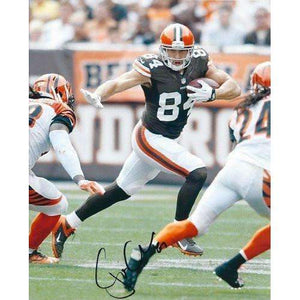 Jordan Cameron, Cleveland Browns, Signed, Autographed, 8x10 Photo, a COA with the Proof Photo of Jordan Signing Will Be Included
