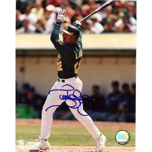 TERRENCE LONG OAKLAND ATHLETICS,A'S,SIGNED,AUTOGRAPHED 8X10,PHOTO,COA