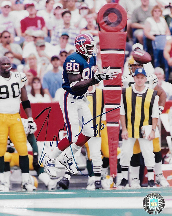 Eric Moulds Buffalo Bills signed autographed, 8x10 Photo, COA will be included.