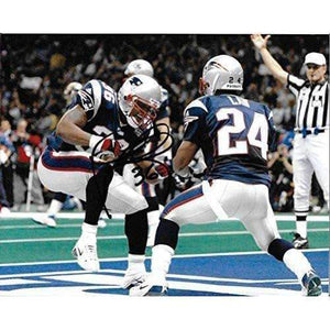 Lawyer Milloy, New England Patriots, Signed, Autographed, 8X10 Photo, a COA with the Proof Photo of Lawyer Signing Will Be Included