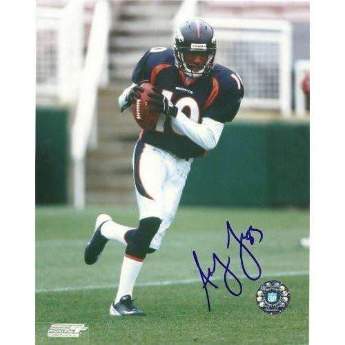 Asley Lalie, Denver Broncos, Hawaii Warriors, signed, autographed, 8x10 photo - COA will be included