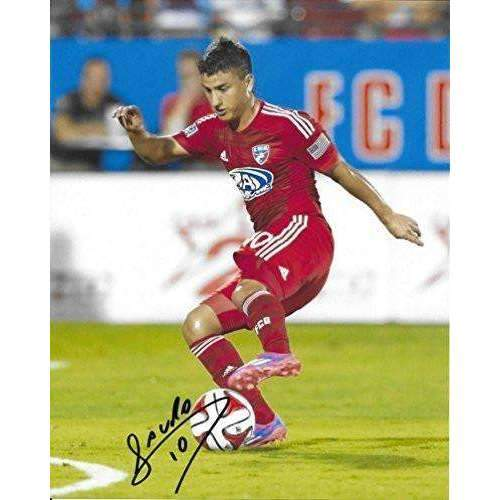 Mauro Diaz, FC Dallas, Argentine, Signed, Autographed, 8x10 Photo, a Coa with the Proof Photo of Mauro Signing the Ball Will Be Included