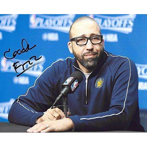 David Fizdale, Memphis Grizzlies, Signed, Autographed, Basketball, 8X10 Photo, a Coa with the Proof Photo of David Signing Will Be Included